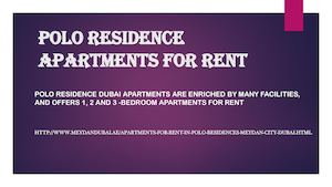 Apartments for rent in Polo Residence