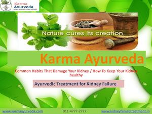 Common Habits That Damage Your Kidney