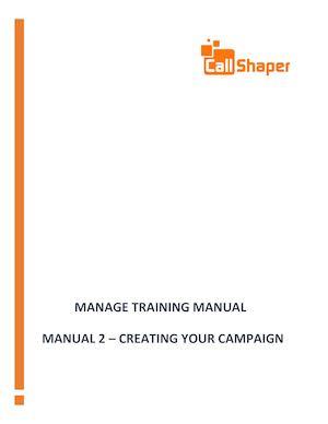 calaméo outbound software manual 2 creating a campaign