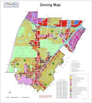 Calaméo - City Of Costa Mesa Zoning Map 2017