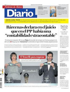 best website 607e9 68cb5 Diario de Noticias de Álava 20170117