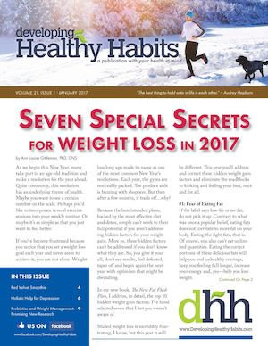 Developing Healthy Habits - January 2017