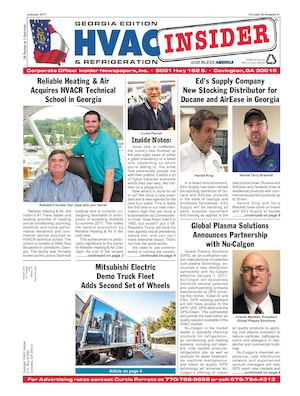 Georgia HVAC Insider January 2017