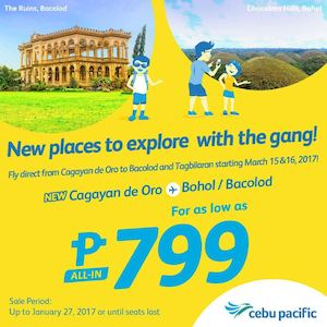 Find New Places To Explore With The Gang For As Low As P799 With Cebu Pacific Book Till January 27 89154