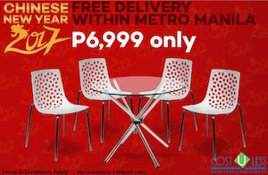Get This 4 Seater With Glass Top Table For Only P6999 From Cost U Less 89175