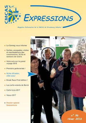 Expressions N 96 Hiver 2016