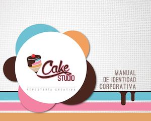 Cake Studio, Manual de Identidad Corporativa