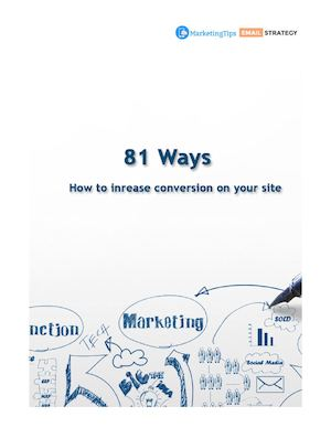 81 Ways To Increase Conversion On Your Site