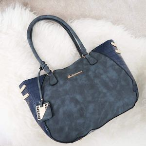 Get This Handbag In This Seasons Latest Accessories Trend Denim Blue From Belladonna Handbags 89195