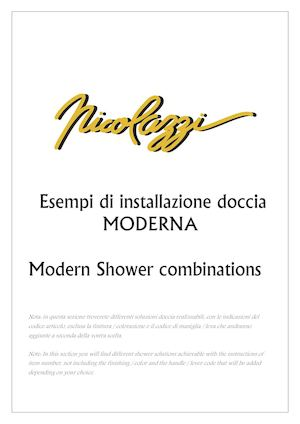 Nicolazzi Modernshower Combinations