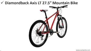 Diamondback Axis LT 27.5″ Mountain Bike Review