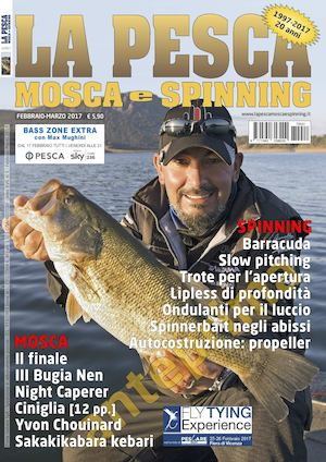 La Pesca Mosca e Spinning 1/2017 Preview