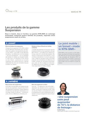 Gamme Suspension | NTN-SNR