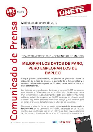 Comunicado EPA IV Trime 2016 Madrid