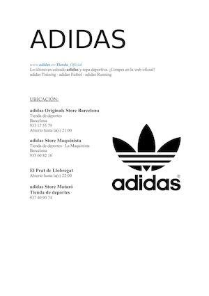 Cabecear de ahora en adelante Asesor  Calaméo - Adidas