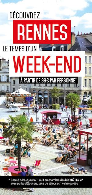 Flyer Week-end à Rennes