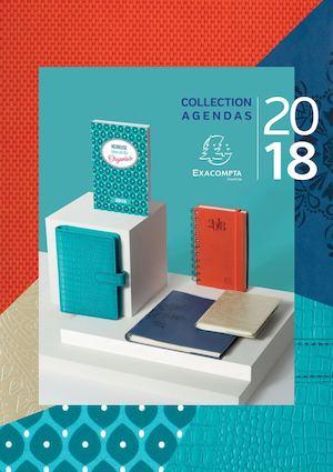 Catalogue Agendas Exacompta Année civile 2018
