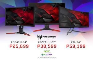 Predator X34 The Worlds First Curved Gaming Monitor Is Available At Pcworx 89410