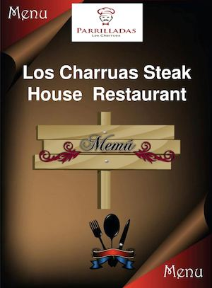 Menu Los Charruas Steak House