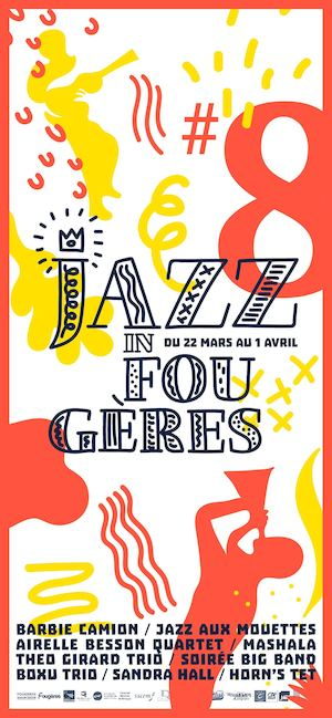 Programme Jazz In Fougères 2017