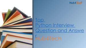 Top Python Interview Question And Answer