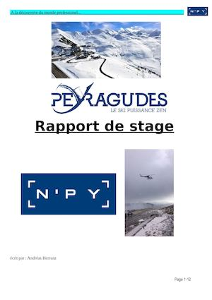 Rapport De Stage Andreas