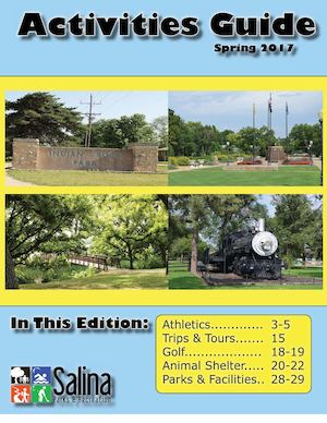 Salina Parks and Rec Spring Activities Guide
