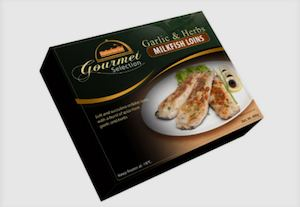Fisherfarms Gourmet Selections Garlic And Herbs Milkfish Loins Is Available At Leading Supermarkets89461 89461