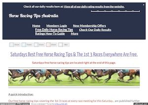 Saturdays February 4th Free Horse Racing Tips