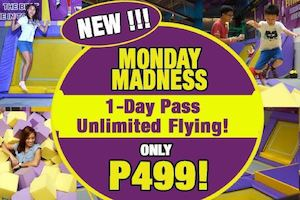 Enjoy Unlimited Flying For P499 Only At Trampoline Park Every Monday89466 89466