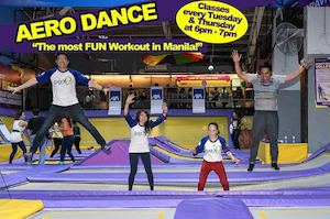 Join Aero Dance Classes At Trampoline Park Every Tuesday Thursday 6pm 7pm89467 89467