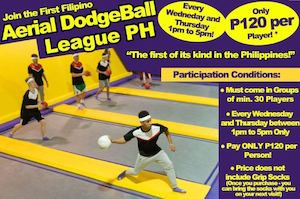 Join The First Filipino Aerial Dodgeball League Ph At Trampoline Park Every Wednesday Thursday89468 89468