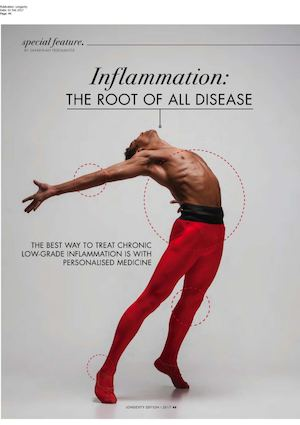 Longevity Inflammation The Root Of All Disease 1 Png