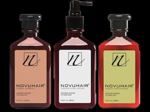 Enjoy The Complete Novuhair Experience With The Novuhair 3 In 1 Pack89481 89481