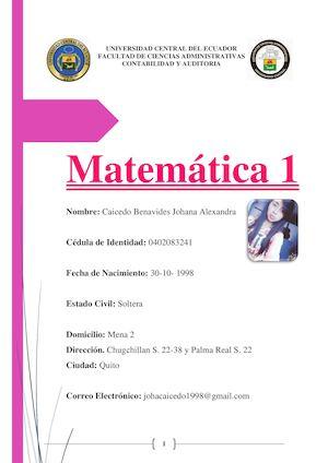 Calaméo - Funciones Exponenciales Y Logaritmicas, Matrices Y ...