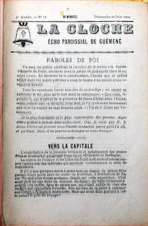 Bulletin Paroissial 1909 12