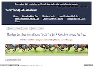 Mondays February 6th Free Horse Racing Tips