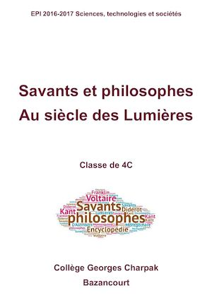 Savants et philosophes 4C