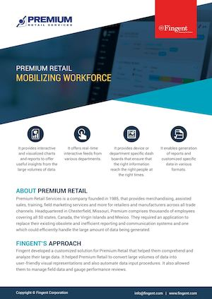 Custom Application Developed for Mobilizing Workforce | Fingent Case Study