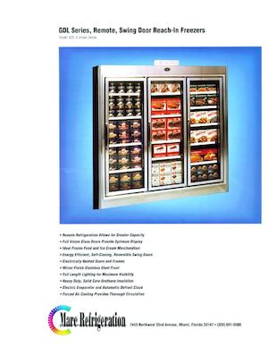 Swing Door Freezers by Mar Refrigeration