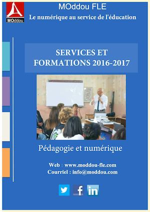 Services et Formations 2016 2017 - Marc Oddou - Moddou
