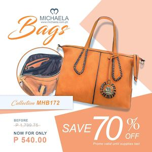Enjoy 70 Off On This Bag Collection From Michaela Until Supplies Last 89506