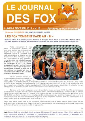 Journal Des Fox 6 02 2017
