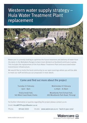 A4 Poster Western Water Supply Huia Wtp Replace 07 02 17 (2)