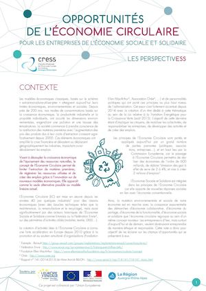 Perspectivess Economie Circulaire