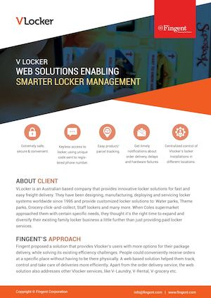 Web Application for Smarter Locker Management | Fingent Case Study
