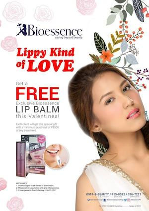 Get A Free Exclusive Lip Balm From Bioessence Valid On February 10 15 2017 89520