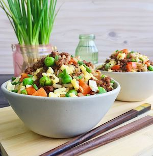 Order The Japanese Fried Rice With Quorn Mince For Your Go Vegan Meal Plan From The Sexy Chef 89528