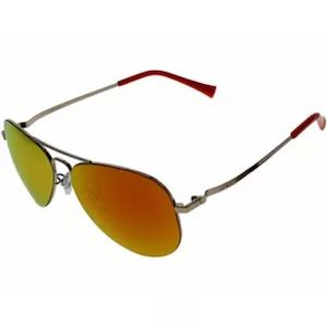Salisbury Fashion Sunglasses Shiny Gold Frameorange Revo Lenses Is Available At Sprinto 89550