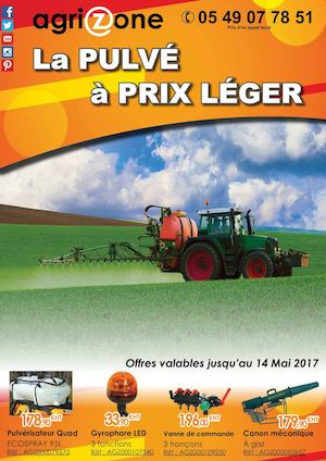 Catalogue AGRIZONE 2017